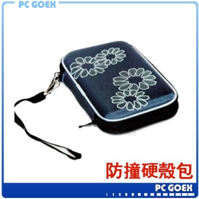 2.5 吋外接式硬碟 藍 行動電源 彩織紋防撞硬殼包☆軒揚pcgoex☆