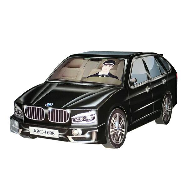 H13 台製小X5休旅車 (黑.銀)