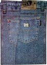 AA169 男、女袋裝高檔 T 恤牛仔褲