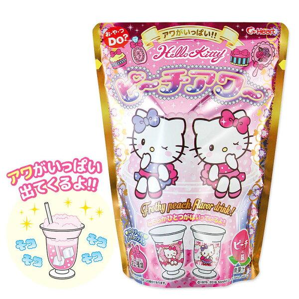 Heart Hello Kitty 凱蒂貓DIY水蜜桃飲料(附杯子) 10g