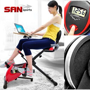 ~SAN SPORTS 山司伯特~超跑飛輪式磁控健身車^(臥式健身車臥式車.懶人車X型BI