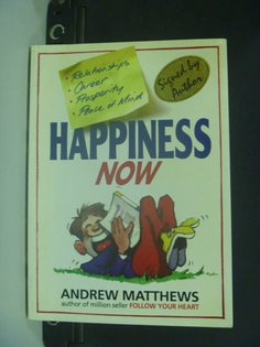 【書寶二手書T6╱語言學習_GEN】Happiness Now_Andrew Matthews