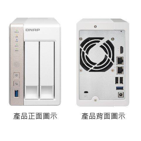 *╯新風尚潮流╭* QNAP網路儲存設備 NAS網路系統伺服器 X51系列 可裝2顆硬碟 內建1G記憶體 TS-251