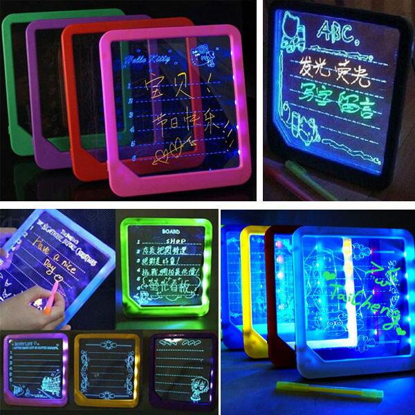 LED手寫板 螢光留言板 螢光寫字板 廣告牌 (不挑色)