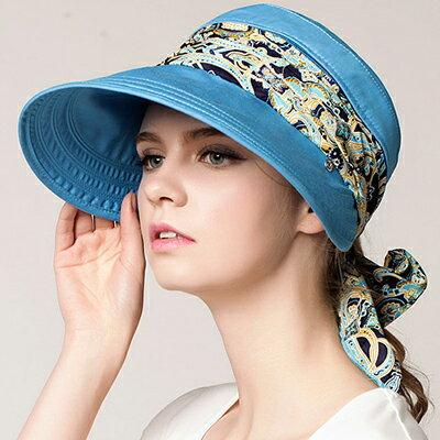 折疊可拆式遮陽帽 防曬帽 遮陽帽