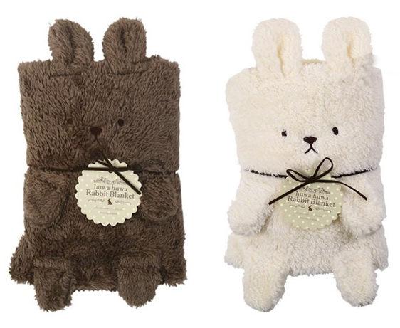 毛毯 卡通兔超柔短絨兒童多用毛毯 ♥77SHOP♥