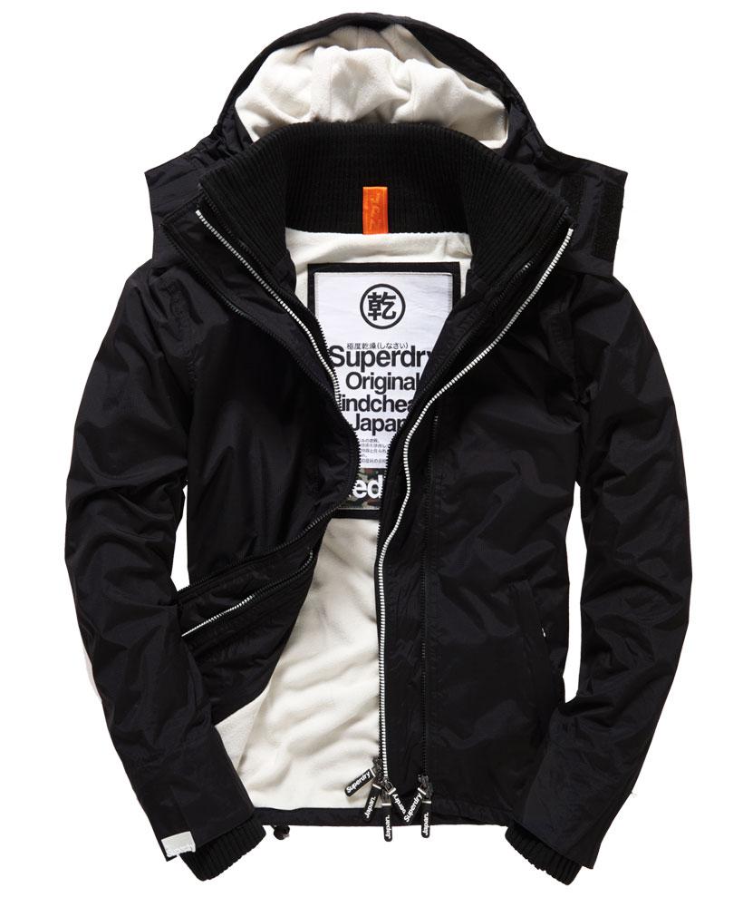 [男款] 英國代購 極度乾燥 Superdry Arctic 男士風衣戶外休閒 外套夾克 防水 防風 保暖 黑色/白色 0