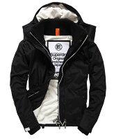 Superdry極度乾燥商品推薦[男款] 英國代購 極度乾燥 Superdry Arctic 男士風衣戶外休閒 外套夾克 防水 防風 保暖 黑色/白色