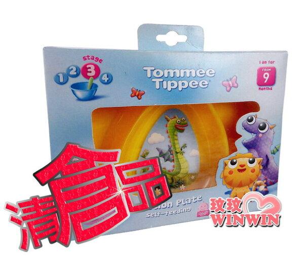 清倉品,下殺 ↘ 3折 ~ 湯美天地 TT- 430272小精靈三格碟 ~ 可用於微波爐加熱或消毒