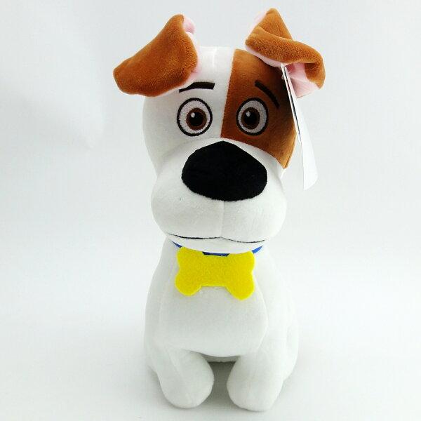 【UNIPRO】寵物當家 麥斯 Max 26公分 絨毛娃娃 玩偶 梗犬 米克斯 正版授權