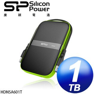 廣穎 Silicon Power Armor 1TB  A60 USB3.0 2.5吋行動硬碟