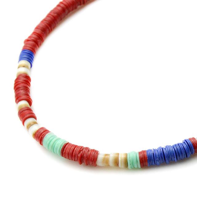 【海外訂購】【amp japan】非洲盤珠紅色蠟繩手環(AMP-14AHK-425RD  0756930000) 1