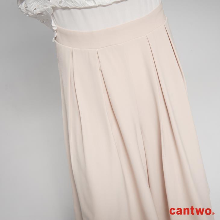 cantwo鏤空蕾絲無袖連身褲(共二色) 5
