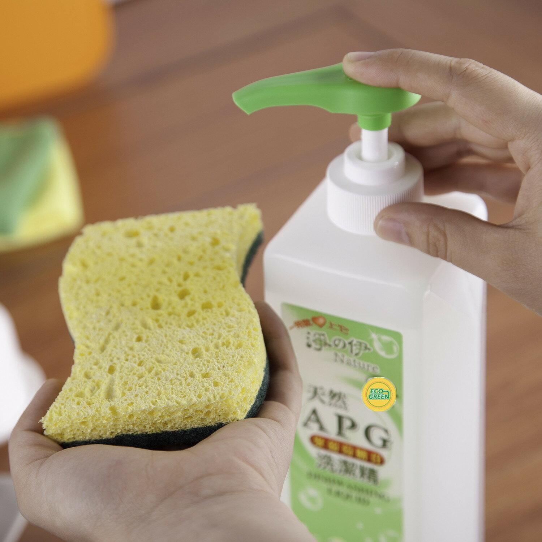 ~淨の伊~天然APG洗潔精^(洗碗精^)、奶瓶蔬果清潔劑^~煮婦媽媽 ^~迅速溶解油脂,不