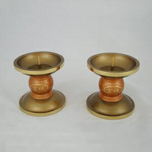 紅珍珠系列燭台(神明用)