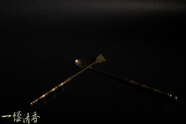 一縷清香 [純銅柄] 台灣香 沉香 檀香 富山 如意  印尼 越南 紅土 奇楠 大樹茶