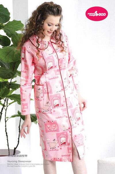 六甲村 - 舒眠哺乳睡衣 (裙裝) 2