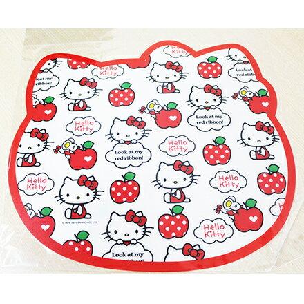 【敵富朗超巿】Hello Kitty造型餐墊 4