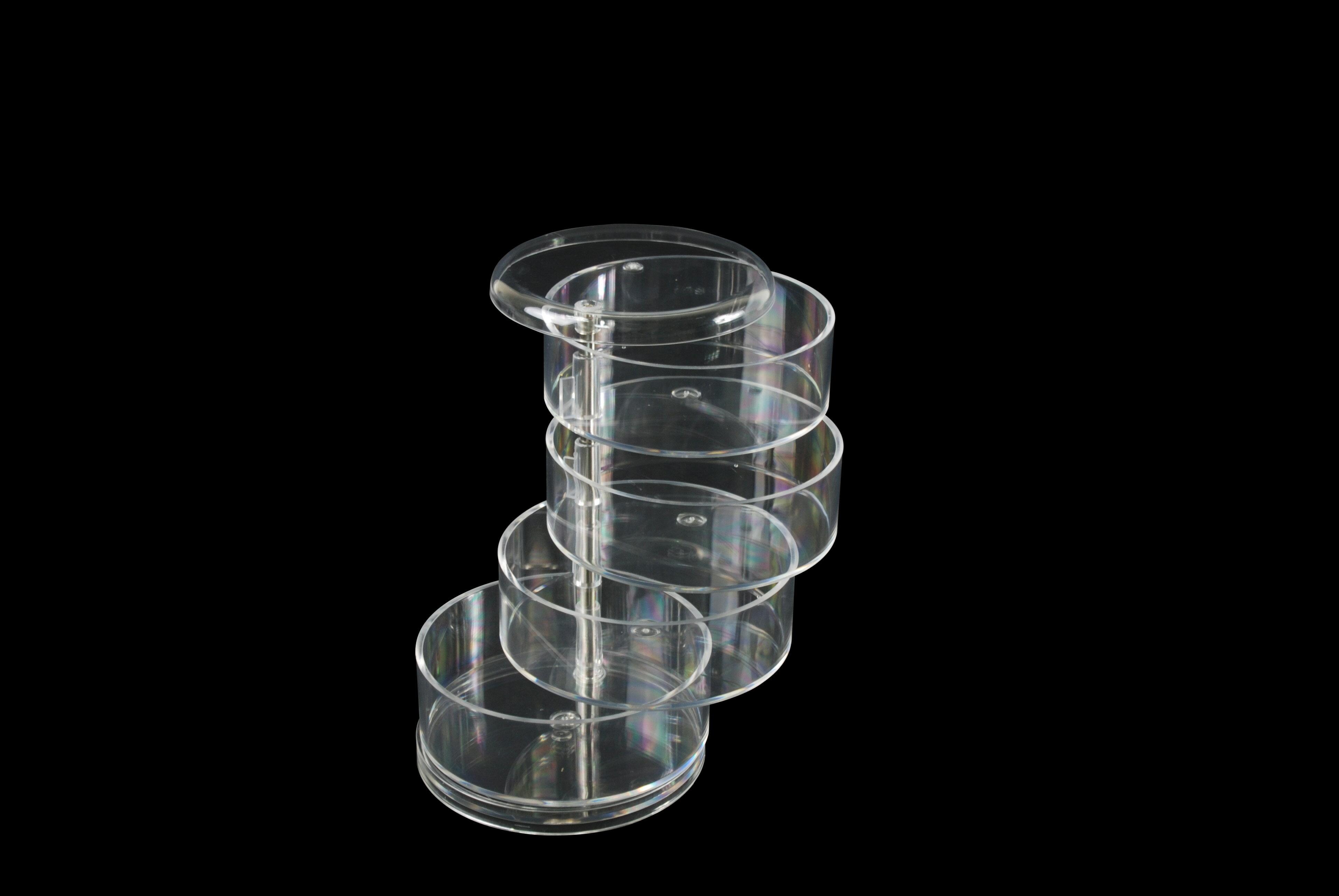 【凱樂絲】圓形透明收納塑膠盒 1