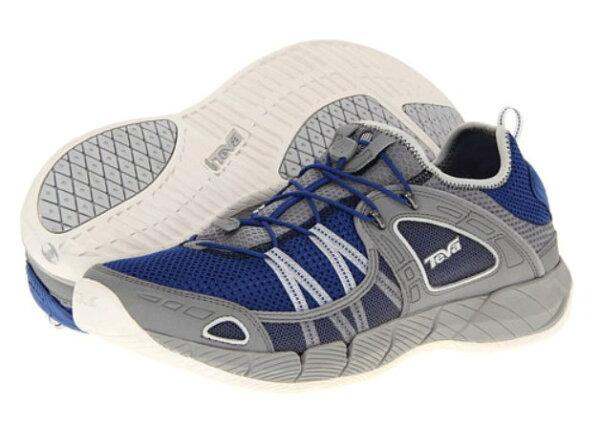 [陽光樂活]TEVA(男) CHURN 運動水鞋  護趾水陸兩用運動鞋 TV4153BLU 藍