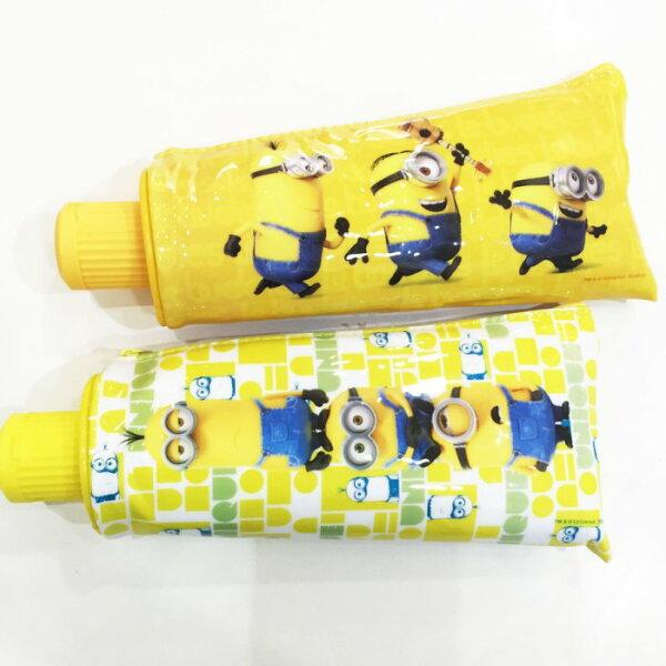 小小兵 MINIONS 神偷奶爸 鉛筆盒 筆袋 牙膏造型 筆削鉛筆盒 文具 正版日本授權 * JustGirl *