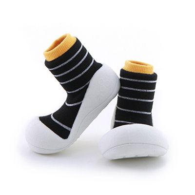 【本月特價$599】韓國【Attipas】快樂腳襪型學步鞋-香蕉牛奶系列 - 限時優惠好康折扣