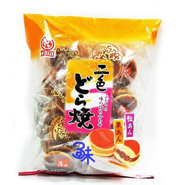 (日本) 天惠 二色銅鑼燒 (紅豆& 栗子) 1包 265 公克 特價 127元  【4902008124954】