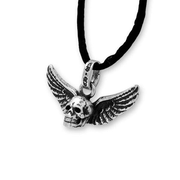 【海外訂購】【Chrome Hearts】骷髏翅膀純銀項鍊 Mahalia (CHC-039 0368570000)