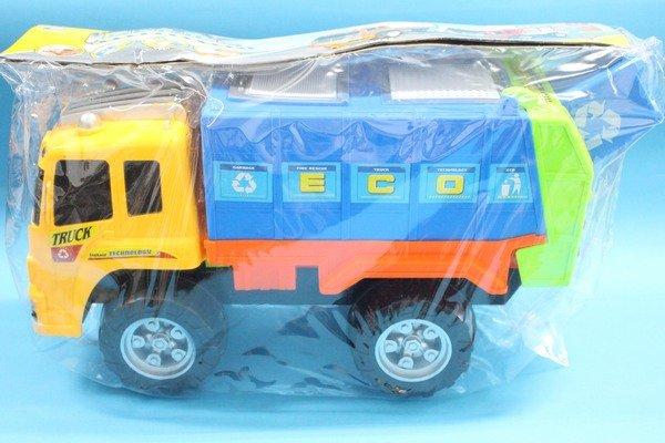 大型垃圾車 FD2022 垃圾車玩具(袋裝.大型)/一台入{促400}~創