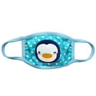 『121婦嬰用品館』PUKU 派對保暖防塵口罩 - 藍 0