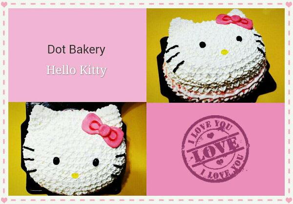卡通造型蛋糕-Hello Kitty6吋
