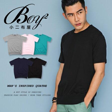 ☆BOY-2☆【NM1052】韓版休閒素面型男短袖T恤 0