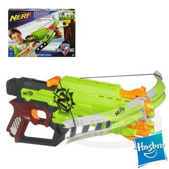 【Playwoods】[ NERF 樂活打擊]N-STRIKE殭屍系列 : 打擊者十字火弓CROSSFIRE BOW 送手機觸控筆 (迅雷弓/大獵槍/彈匣/連發衝鋒槍/機關槍/迅火連發機關槍)