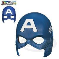 美國隊長周邊商品推薦【Playwoods】[漫威復仇者聯盟]英雄面具:美國隊長 基本組面具Captain America Hero Mask(Avengers Assemble/驚奇英雄/Marvel超人/酷寒戰士/Cosplay/扮裝)預購