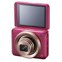Canon佳能到【Canon】360度全週式快門環&1公分近拍 PowerShot N2自拍隨身機 粉色 (公司貨)