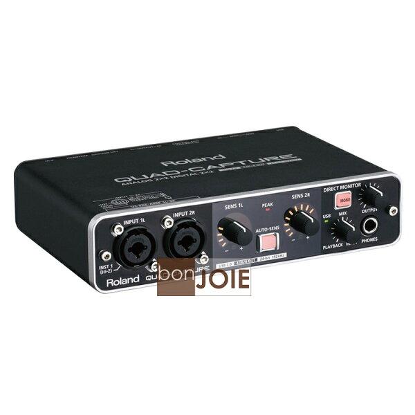 ::bonJOIE:: 日本進口 Roland QUAD-CAPTURE UA-55 USB 2.0 錄音介面 (全新盒裝) Audio Interface 羅蘭 音訊 錄音盒 錄音卡 UA55
