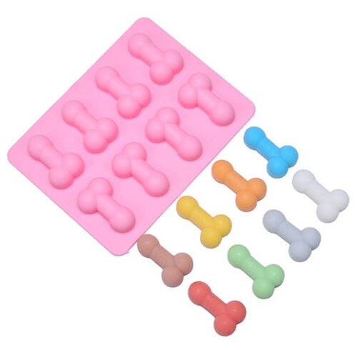 Novelty Willy Penis Ice Cube Tray Chocolate Jelly Rubber