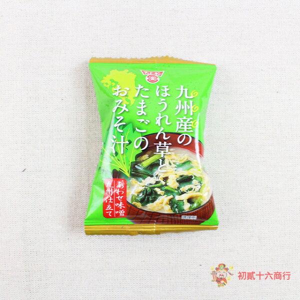 【0216零食會社】日本Fundokin波菜蛋味噌湯(沖泡)11g