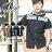 ☆BOY-2☆ 【PPK83023】短袖襯衫連帽潮流拼接民俗風休閒襯衫 1