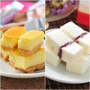 起司條+北海道牛奶蛋糕組