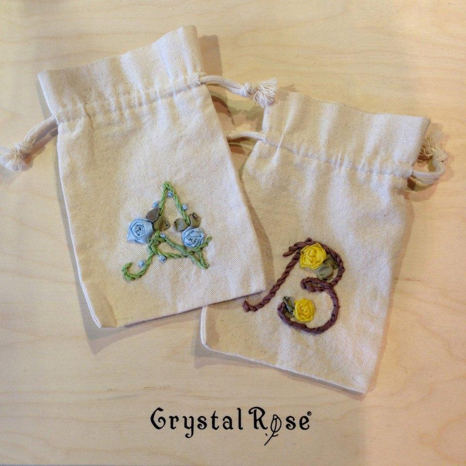 DIY手作-緞帶刺繡材料包(花環) 4