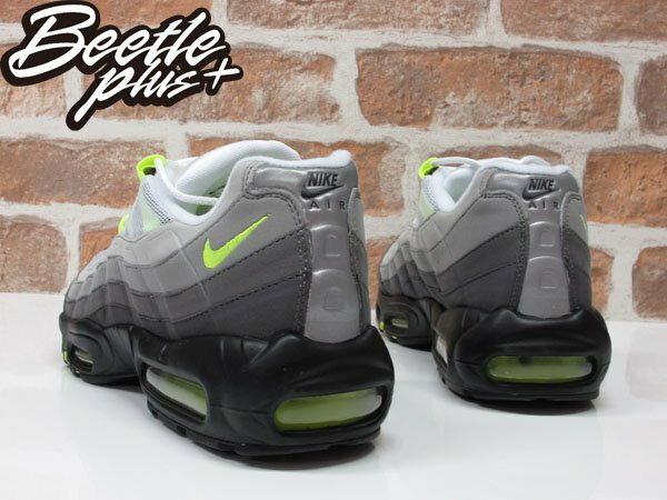BEETLE PLUS NIKE AIR MAX 95 NEON OG 氣墊 反光 螢光綠 男鞋 慢跑鞋 木村拓哉 554970-071 2