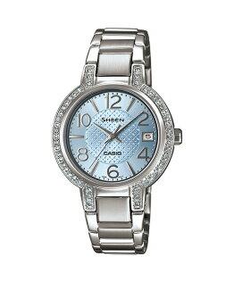 CASIO SHEEN SHE-4804D-2A奢華系列時尚腕錶/藍色32mm