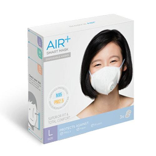 ~Limiteria~air 氣益佳拋棄式智慧型口罩^(L size^) 隔離霧霾 髒空氣