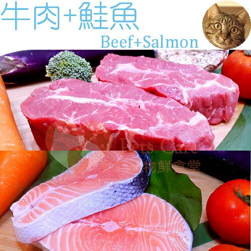【Pets Care 貓鮮食】牛肉+鮭魚 真鮮包 每包70g 三大養生系列 貓飼料 貓罐頭 貓用品 寵物食品
