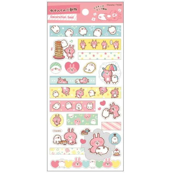 【真愛日本】16042400003貼紙-蛋糕塔      卡娜赫拉 全家 FamilyMart  文具用品 貼紙