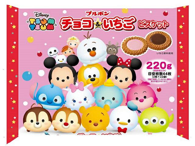 有樂町進口食品 日本 季節限定 北日本 X'MAS 迪士尼巧克力&草莓餅 4901360317929 0