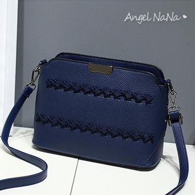 斜背包。韓版 編織 女側背包 小包包【B167】AngelNaNa