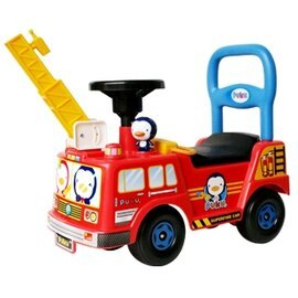 『121婦嬰用品』PUKU雲梯消防車 - 紅 2849 0