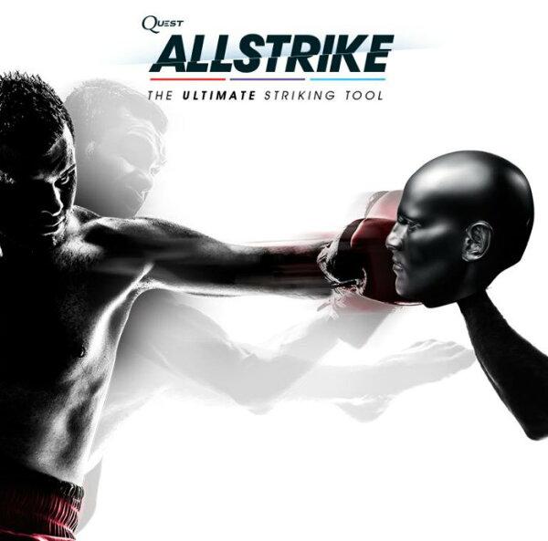 Body Combat Hiit 間歇訓練Allstrike MMA手靶UFC拳靶~散打泰拳踢靶沙包-黑人頭